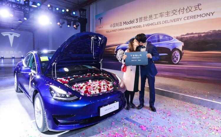 Tesla ha sido un éxito en el mercado chino