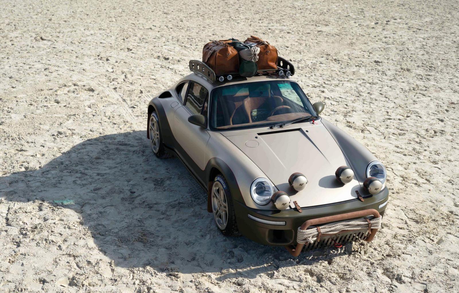 Ruf Rodeo recrea concepto Porsche 911 SC Safari