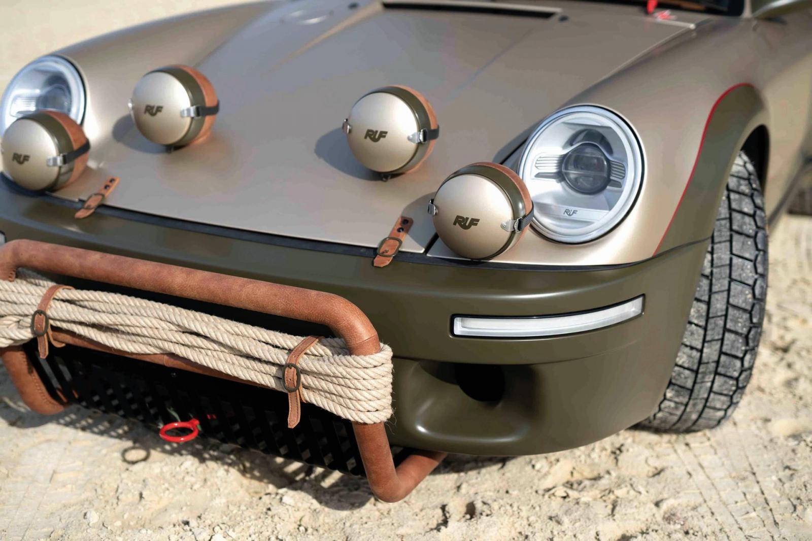 Ruf Rodeo Porsche Safari luces