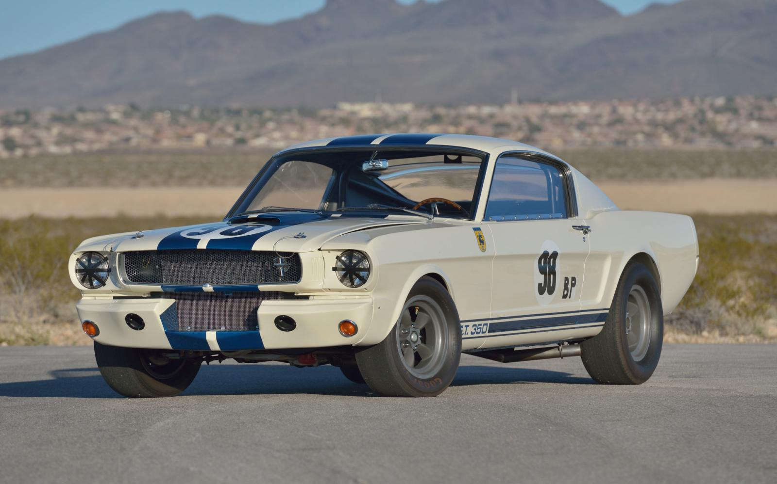 """Ford Shelby GT350 Competition 1965 """"Flying Mustang"""" a subasta"""