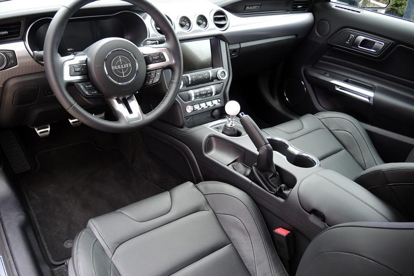 Interior del Ford Mustang Bullitt