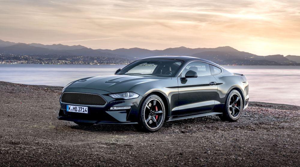 Ford Mustang Bullitt en exhibición