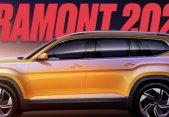 Volkswagen nos da un adelanto del facelift de la SUV Teramont