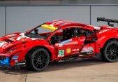 Lego revela su versión del Ferrari 488 GTE