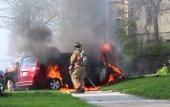 ¿Qué hacer si tu auto se incendia?