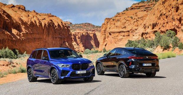 BMW presenta a las renovadas X5M y X6M 2020