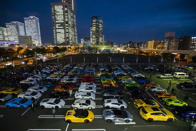 Celebran el Día de Lamborghini con desfile de más de 200 supercoches