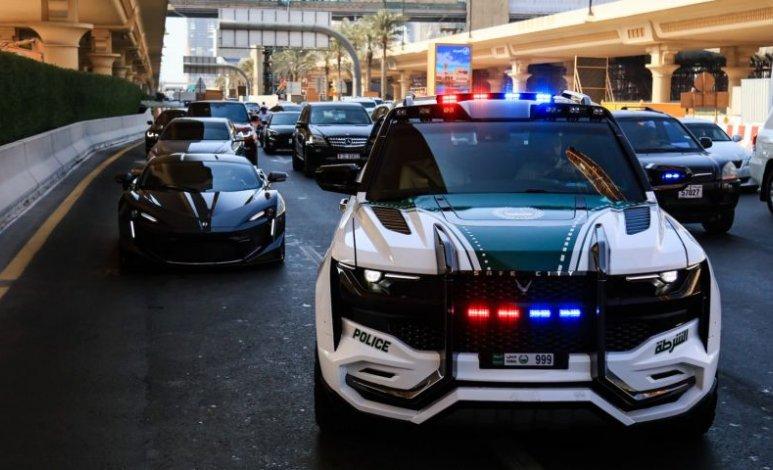 Ghiath – la SUV única de la Policía de Dubái
