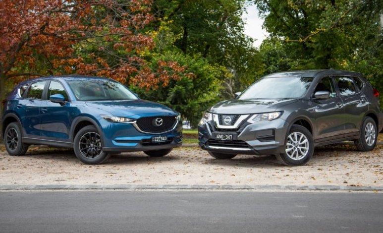 Comparativa: Mazda CX-5 Signature 2WD 2019 vs. Nissan X-Trail Exclusive 3 Row 2019