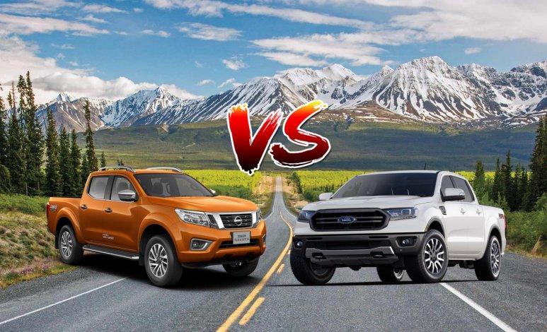 Comparativa: Nissan NP300 Frontier LE 4x4 TA Diésel 2019 vs. Ford Ranger XLT Diésel 2019