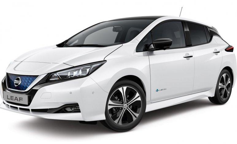 Nissan LEAF SL bi-tono 2019: reseña del automóvil eléctrico más vendido a nivel mundial
