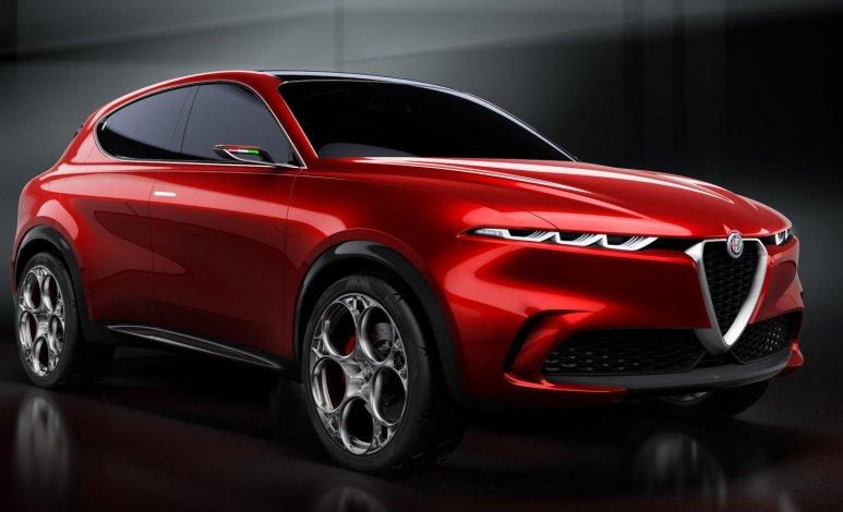 Alfa Romeo se une a la tendencia de los autos híbridos con su SUV concepto Tonale