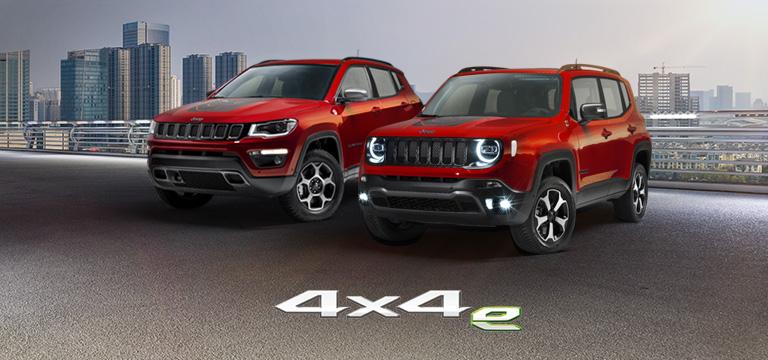 Jeep Renegade y Compass harán su debut en carretera en el Auto Show de Turín
