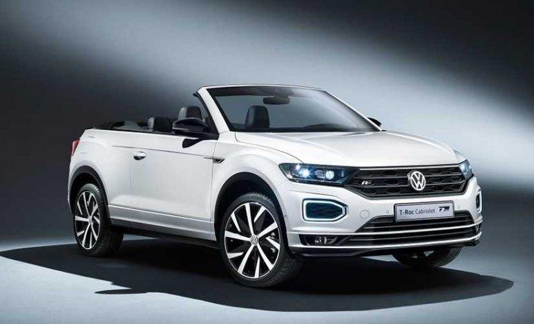 Conoce al T-Roc Cabriolet, la crossover divertida de Volkswagen