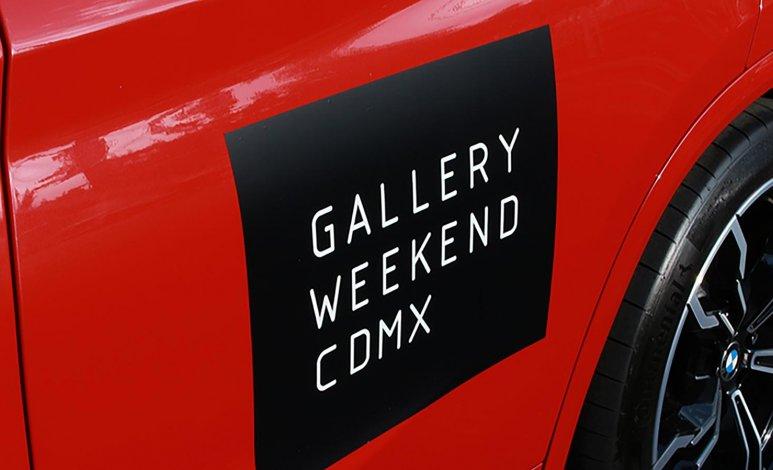 BMW Mexico protagoniza el 7° Gallery Weekend de la Ciudad de México
