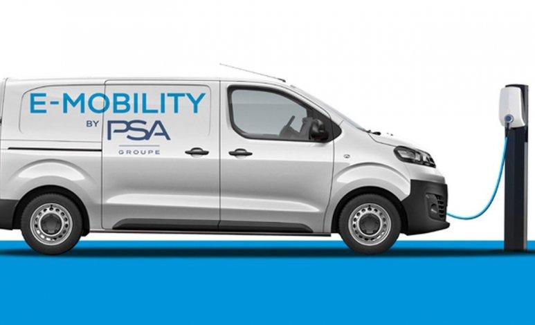 PSA lanzará versiones eléctricas de sus vehículos comerciales