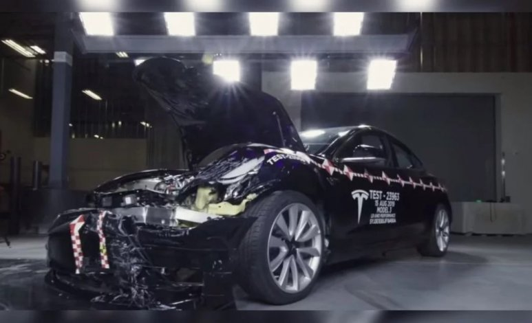 Gracias a su Crash Lab, Tesla brinda seguridad