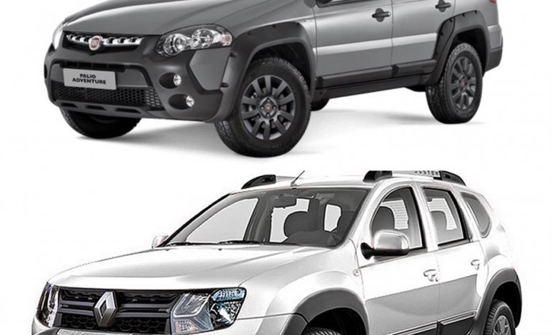 Comparativa: Renault Duster Zen 2020 vs Fiat Palio Adventure Manual 2020