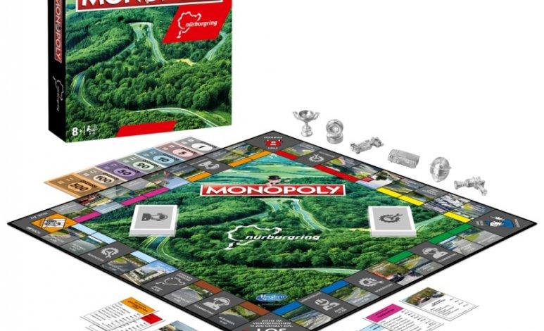 Monopoly lanza una versión inspirada en Nürburgring
