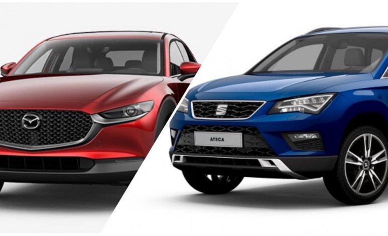 Comparativa: Mazda CX-30 i Grand Touring 2020 vs SEAT Ateca Style 2020