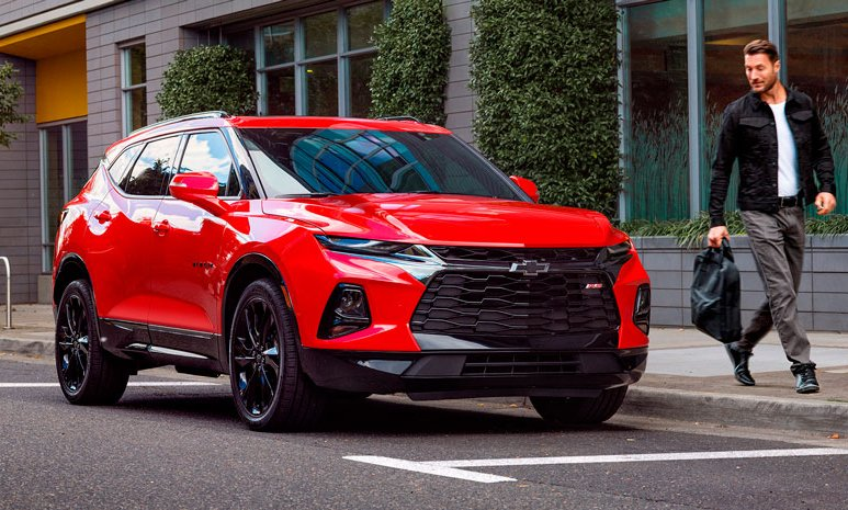 Comparativa Chevrolet Blazer RS 2020 vs. Ford Edge Titanium 2020