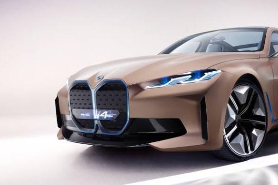 Por fin se presentó el BMW Concept i4 y así es como luce