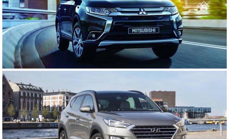 Comparativa: Mitsubishi Outlander ES 2019 vs Hyundai Tucson GLS Premium 2019