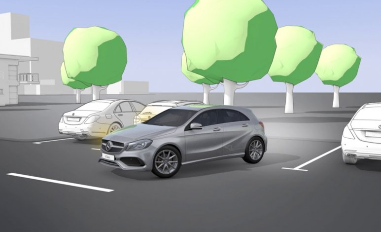 Cómo funciona el sistema Parktronic de Mercedes-Benz