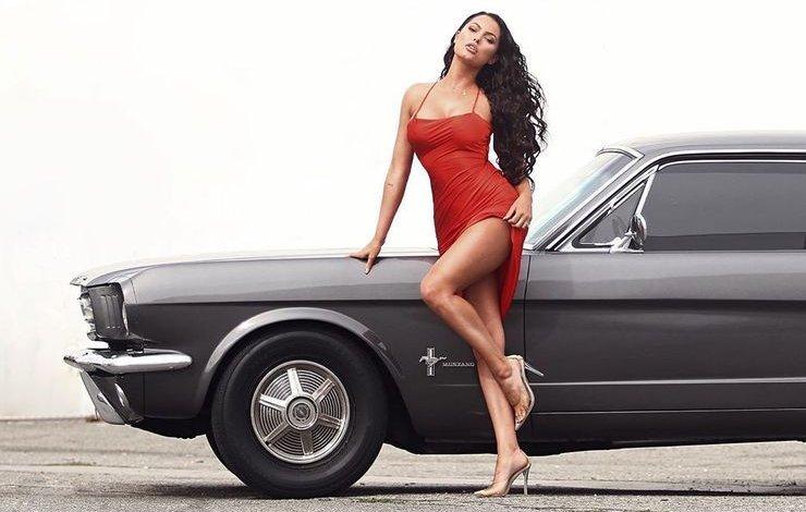 """""""Babystang"""", el Ford Mustang de Constance Nunes"""