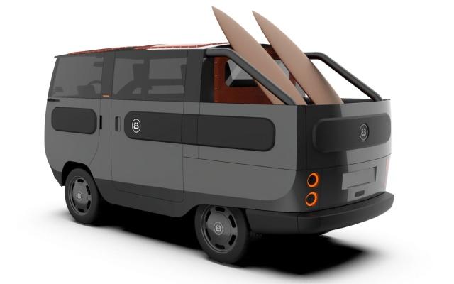 Conoce la eBussy, la camioneta eléctrica más hippie