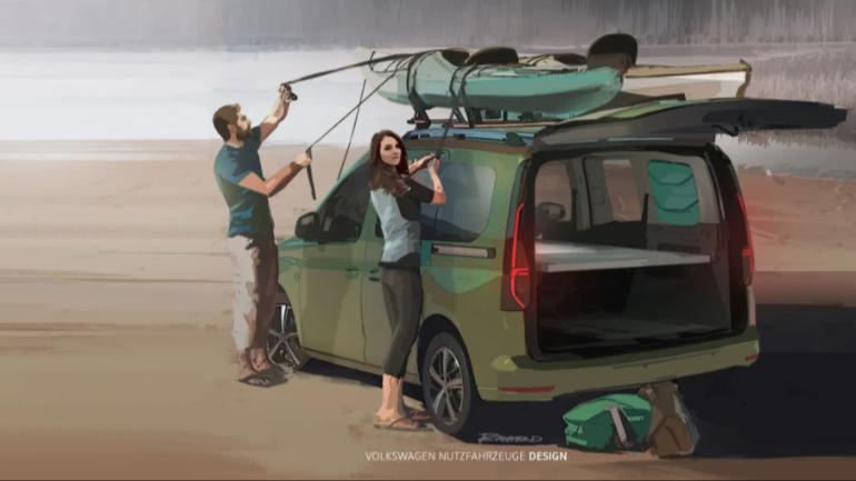 """Volkswagen Caddy Beach, perfecta """"para cuando todo pase"""""""