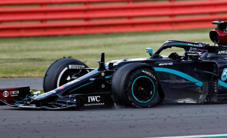 Por qué las llantas de Fórmula Uno se ponchan tanto