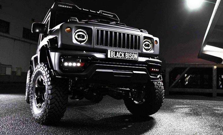 La Suzuki Jimny se pone extrema con Black Bison Edition