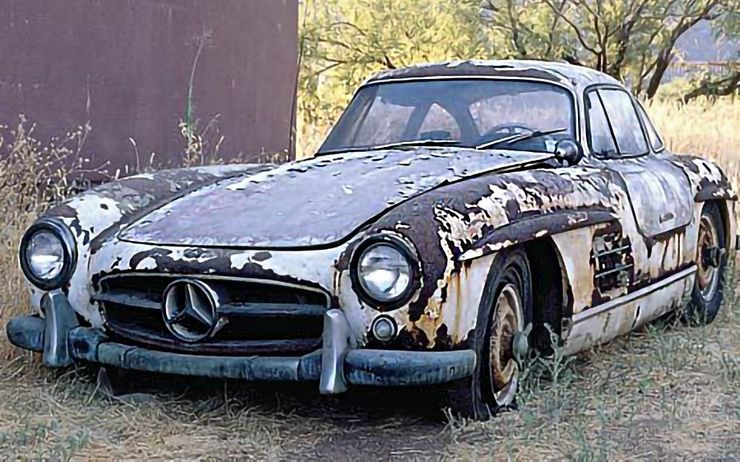 Fotos: Autos clásicos encontrados en circunstancias difíciles