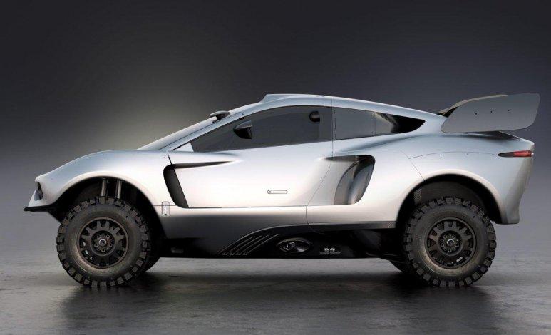 El BRX Hunter T1 4x4 de Prodrive tendrá versión de calle