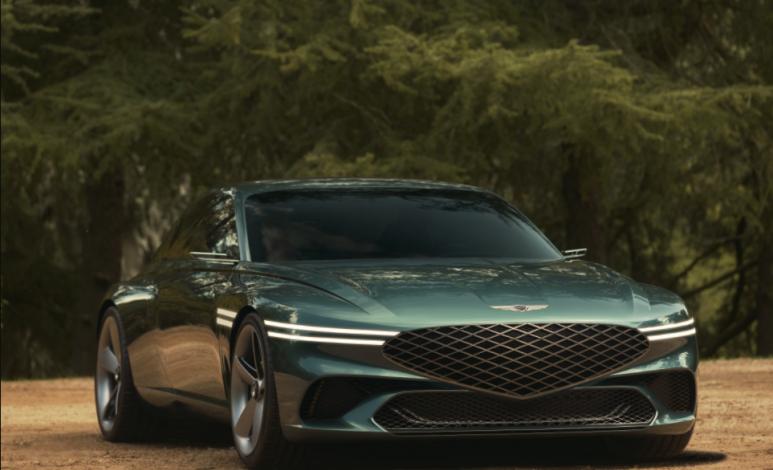Genesis X, el auto eléctrico con tintes de GT y rostro de rasuradora