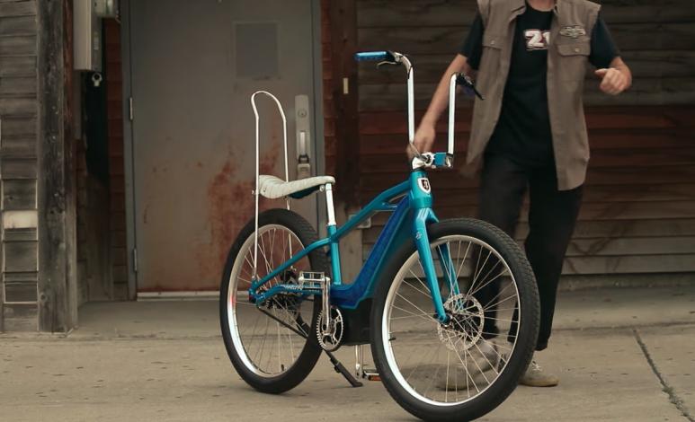 """Video: Harley-Davidson crea bici eléctrica al estilo """"Vagabundo"""""""